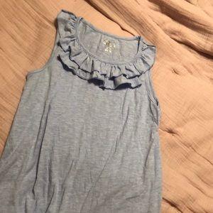 Girls Sleeveless Shirt - Size L (10-12)